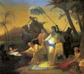 נסיך מצרים - מופע תיאטרון ווידאו ארט.